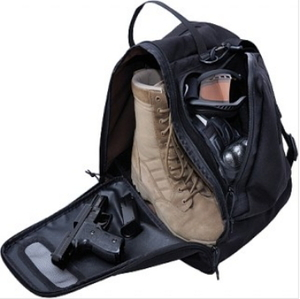 Boot Bunker (TM): boot isolation/carry bag