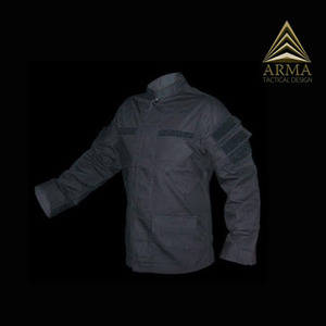 RAIDS BDU COAT BLACK