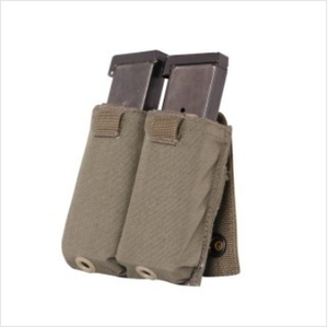 Pistol Magazine Pocket, Speed Reload, Double, MOLLE