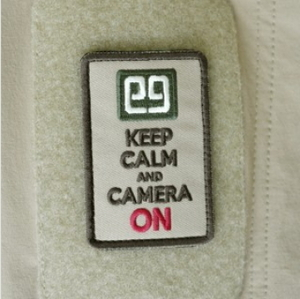 E9 - Keep Calm and Camera On Patch