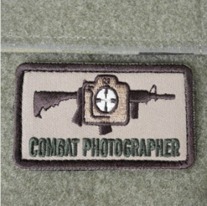 E9 - Combat Photographer Patch