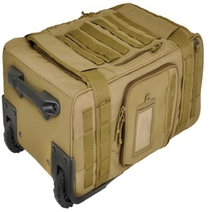 Hazard4 Air Support(TM) Rugged Rolling Carry-On