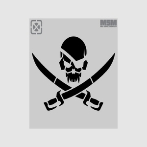 MSM - PirateSkull Stencil