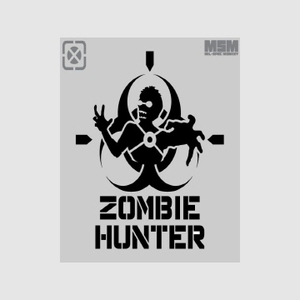 MSM - Zombie Hunter Stencil