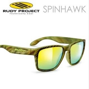 Rudy Project - SPINHAWK CAMO Multilaser Green Sunglases