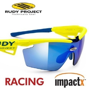 Rudy Project - Genetyk Racing PRO Yellow Fluo MultiLaser Blue